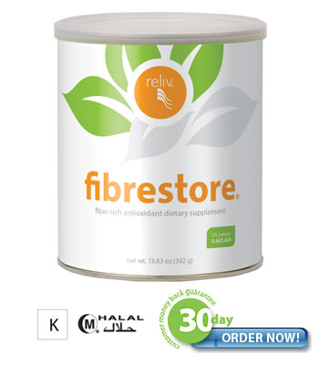 FibRestore - for Digestive Health and for Weight Loss and Heart Health