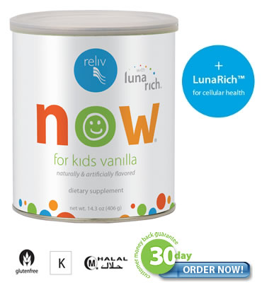 Reliv Now - Kids Essential Nutrition (now with LunaRich®)