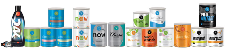Reliv range of quality nutrition health supplement products