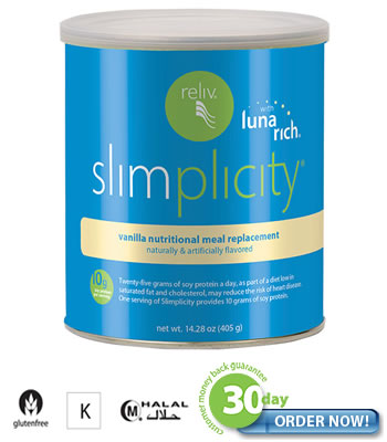 Simplicity Vanilla - a Weight Loss System, a healthy approach to getting fit!