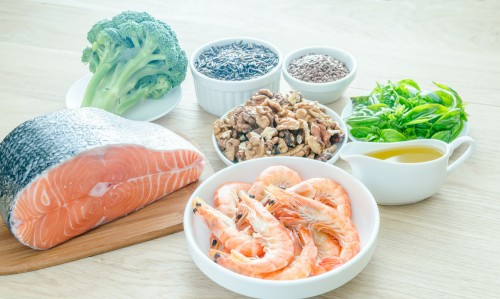 Food rich in omega3
