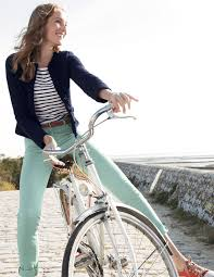 enjoying your bike rides and good health