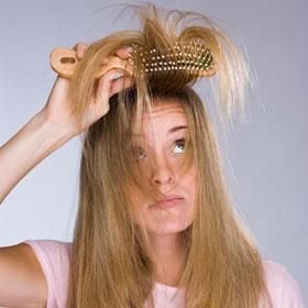 Hair Care Brushing