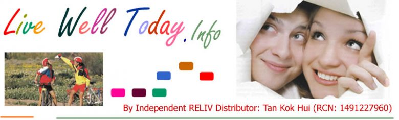 Independent RELIV distributor: Live Well | Nutrition | Health Supplements