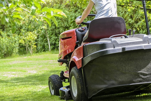 Mow the lawn for a healthier YOU!