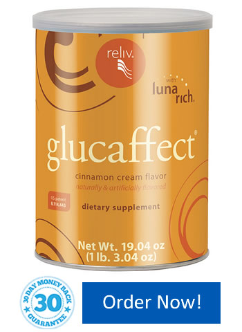 Reliv GlucAffect - Blood Sugar Management