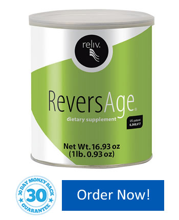 Reliv ReversAge lets you look and feel younger - inside and out!