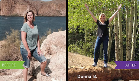 Reliv Fit3 Transformation for Donna B