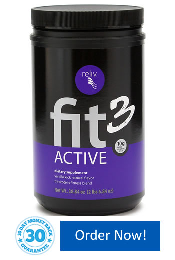 Fit3 Active for a healthy weight and an active lifestyle