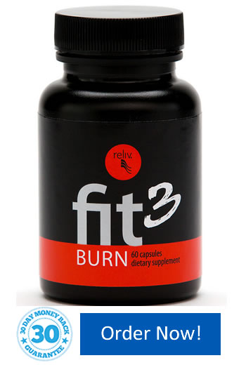 Fit3 Burn assists in burning fat and promote a healthy weight