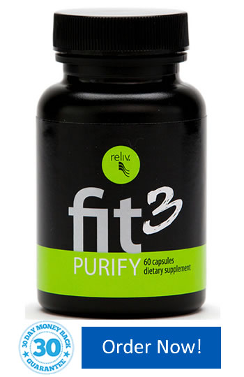 Fit3 Purify purifies your body while you sleep