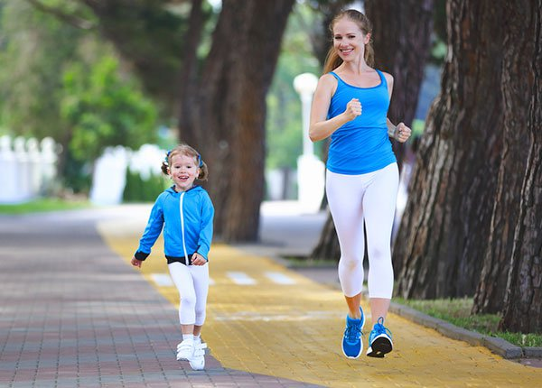 Running is also recommended for kids when with proper guidance.
